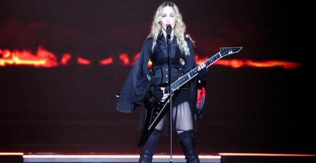 Madonna'dan 45 dakika kala konser iptali