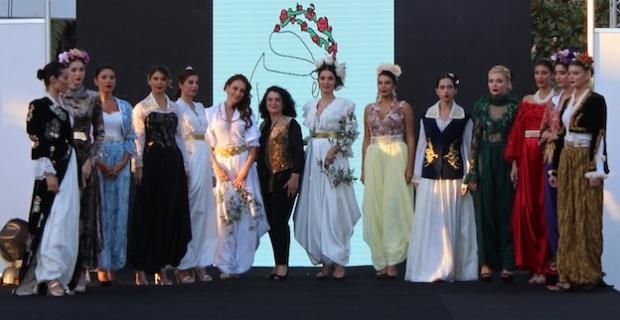 Balkanlılar Halk Dansları ve Kültür Festivali kapsamında Sevdalinka defilesi düzenlendi