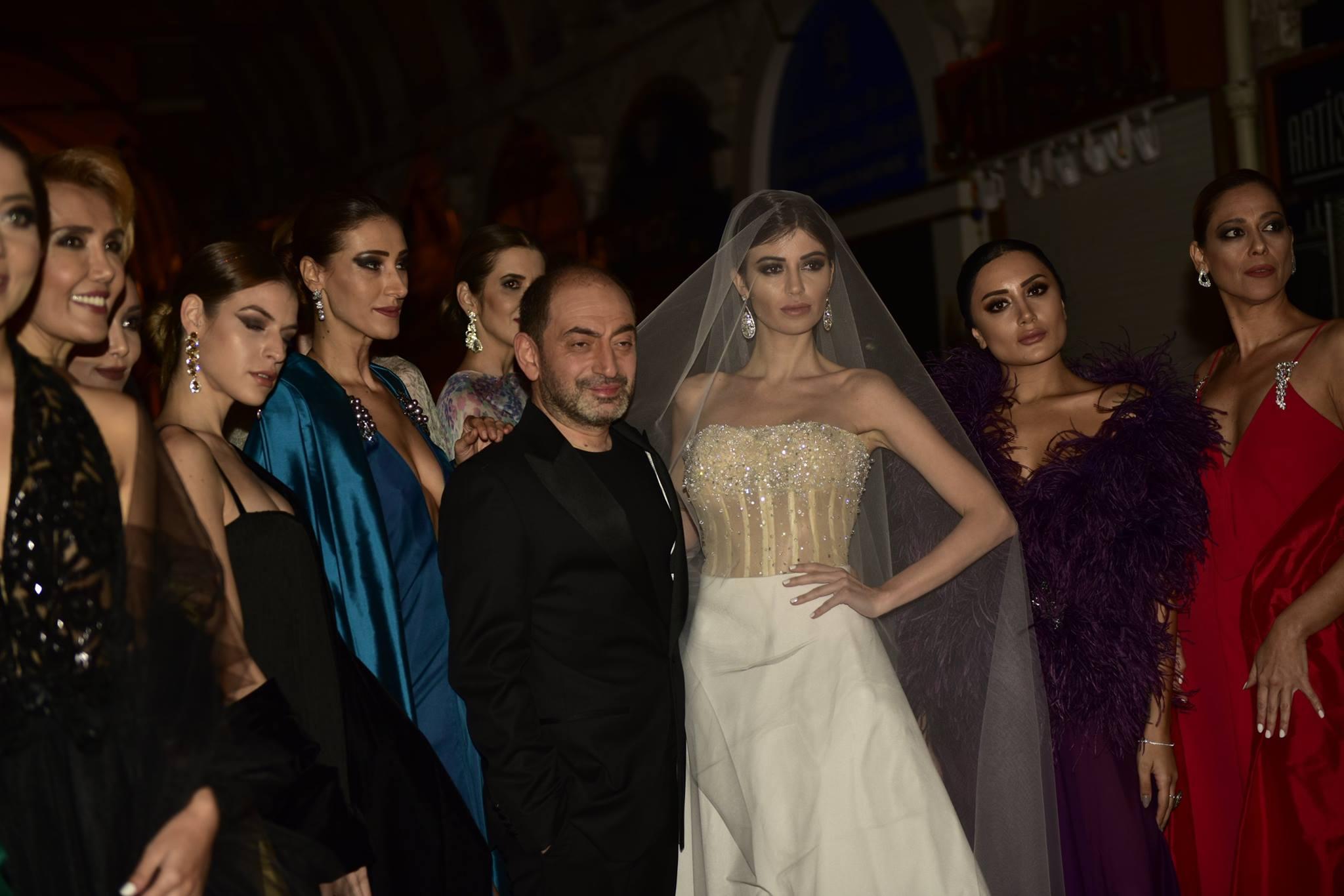 Kapalıçarşı'da Mehmet Köymen LESAIRA Winter 2018 Haute Couture defilesi