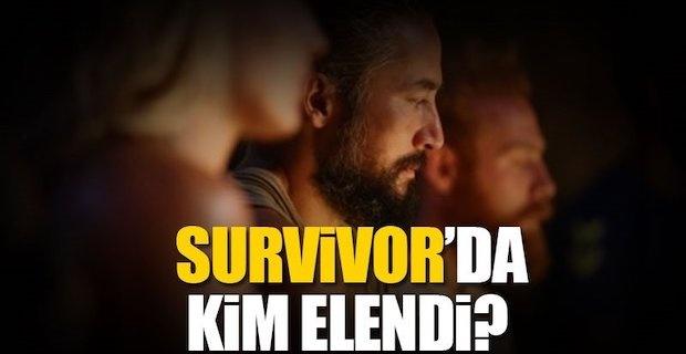 Survivor'da dün akşam elenen isim kim