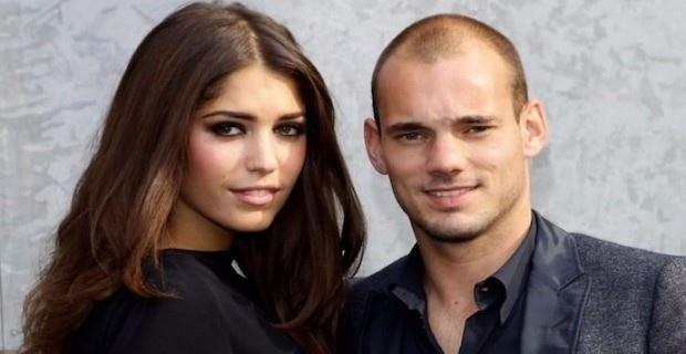 Wesley Sneijder ve Yolanthe Cabau boşanıyor