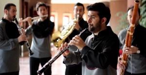 "Antalya DOB'tan ""Anadolu Nefesli Beşlisi"" konseri"