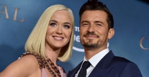 Katy Perry ve Orlando Bloom düğünü...