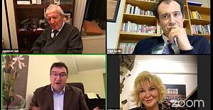 Bestekar Ahmet Adnan Saygun anıldı, Piyanist Gülsin Onay anma etkinliğinin moderatörlüğünü yaptı