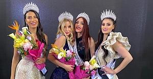 Türk güzeline Lübnan'da üçüncülük tacı, Miss Europe 2021
