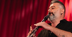 Londra'lı klarnet ustası Saygın Akbudak'ın kitabı yolda