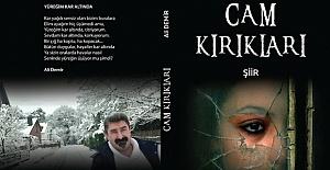 Şair, eğitimci yazar Ali Demir'in ikinci şiir kitabı CAM KIRIKLARI çıktı