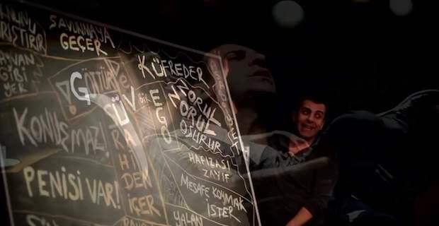 Emre Karayel`in oynadığıOksimoron Oyunu Londra'da Arcola Tiyatrosunda