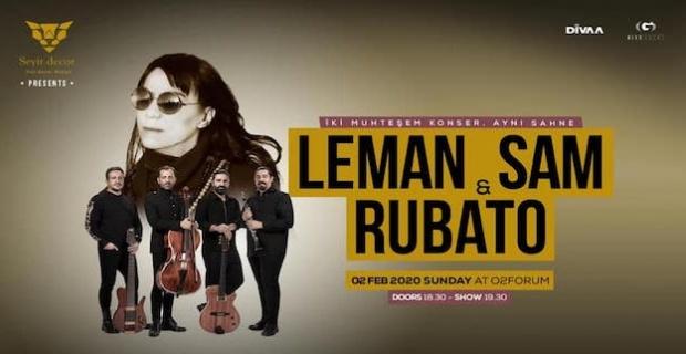 Leman Sam ile Rubato Londra konseri 2 Şubat'ta