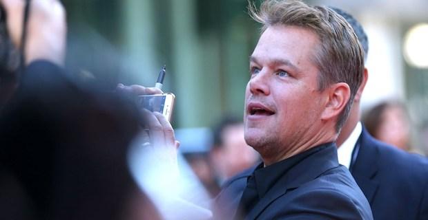 Ünlü yıldız Matt Damon mahsur kaldı