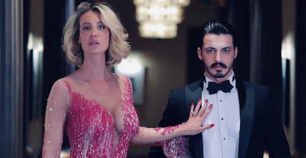 Ünlü model Kaan Akıncı ve İtalyan top model Stella Manente'den Avrupa'da ses getirecek moda çekimi